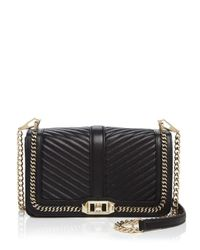 Rebecca Minkoff - Blue Crossbody - Quilted Love - Lyst