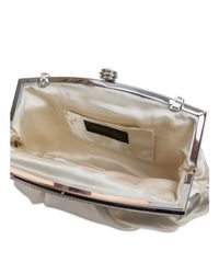Jessica Mcclintock - Metallic Rhinestone Frame Clutch - Compare At $55 - Lyst