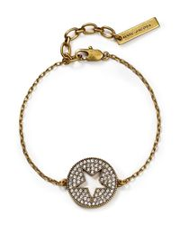 Marc Jacobs | Metallic Pave Star Bracelet | Lyst