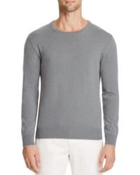 Eleventy - Gray Tipped Cashmere Sweater for Men - Lyst