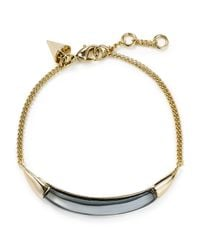 Alexis Bittar | Metallic Thin Bangle Bracelet | Lyst
