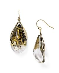 Alexis Bittar - Multicolor Lucite Suspended Teardrop Earrings - Lyst
