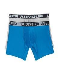 Under Armour | Blue Original Series Boxer Briefs, Set Of 2 for Men | Lyst
