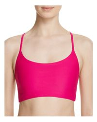 Onzie - Pink Vinyasa Sports Bra - Bloomingdale's Exclusive - Lyst