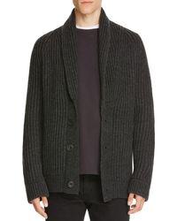 Vince | Black Shawl Collar Cardigan Sweater for Men | Lyst