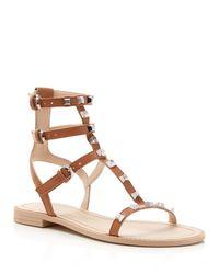 Rebecca Minkoff - Multicolor Georgina Studded Gladiator Sandals - Lyst