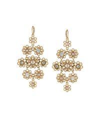 Carolee - Metallic Chandelier Earrings - Lyst