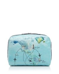 LeSportsac - Blue Extra-large Cosmetic Case - Lyst