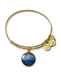 ALEX AND ANI - Metallic Charity By Design Simplify Expandable Wire Bangle - Lyst