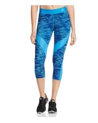 Nike | Blue Pro Hypercool Reflect Capri Leggings | Lyst