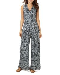 Phase Eight - Blue Bette Printed Jumpsuit - Lyst
