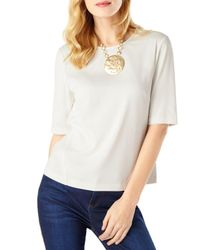 Phase Eight - White Annika Shell Top - Lyst