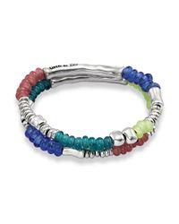 Uno De 50 - Blue Hawaiian Tropic Bracelet - Lyst