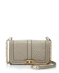 Rebecca Minkoff - Multicolor Geo Quilted Love Crossbody - Lyst