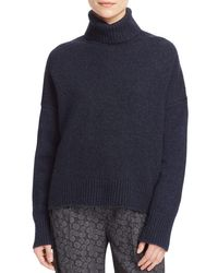 Vince - Blue Turtleneck Sweater - Lyst