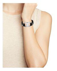 Tory Burch - Multicolor Gemini Link Leather Bracelet - Lyst