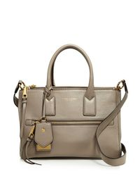 Marc Jacobs | Metallic Recruit East/west Leather Tote | Lyst