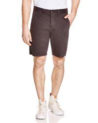 Rag & Bone - Gray Standard Issue Shorts for Men - Lyst