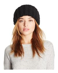 Federica Moretti | Brown Ribbed Knit Hat | Lyst