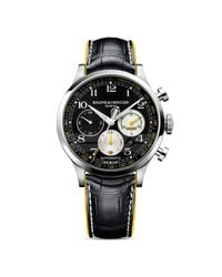 Baume & Mercier - Black Capeland Shelby Cobra Chronograph Watch  for Men - Lyst