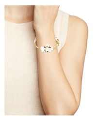 Bourbon and Boweties - Metallic Howlite Bangle - Lyst