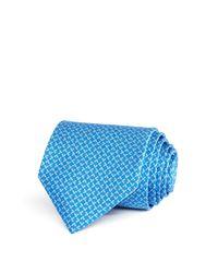 Ferragamo | Blue Micro Butterfly Classic Tie for Men | Lyst