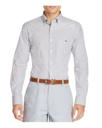 Vineyard Vines | Multicolor Seabrook Gingham Tucker Slim Fit Button-down Shirt for Men | Lyst