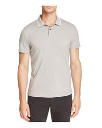 Theory | Gray Sandhurst Current Piqué Relaxed Fit Polo Shirt for Men | Lyst