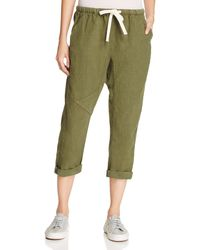 FREE CITY | Green Drawstring Pants | Lyst