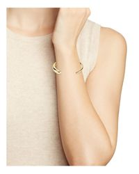 Elizabeth and James - Metallic Aldona Cuff - Lyst