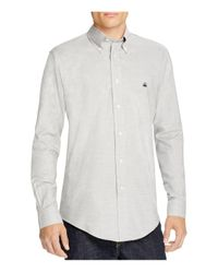 Brooks Brothers | Gray Regent Oxford Slim Fit Button-down Shirt for Men | Lyst
