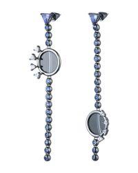 Eddie Borgo | Blue Voyager Drop Earrings | Lyst