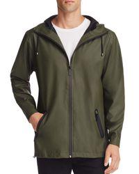 Rains | Green Breaker Hooded Jacket for Men | Lyst