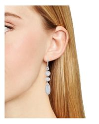 Nadri | Metallic Chalcedony Drop Earrings | Lyst