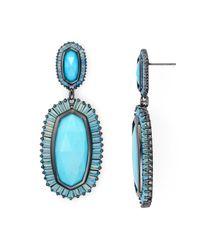 Kendra Scott | Blue Kaki Earrings | Lyst