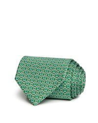 Ferragamo   Green Rope Link Gancini Classic Tie for Men   Lyst