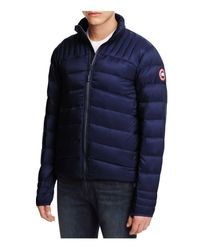 Canada Goose - Blue Brookvale Down Jacket for Men - Lyst