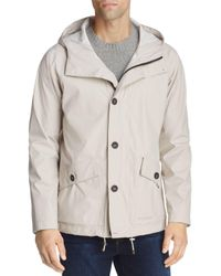 Stutterheim - Natural Stenhamra Lightweight Hooded Rain Coat for Men - Lyst