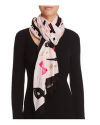 kate spade new york | Multicolor Steal The Scene Scarf | Lyst