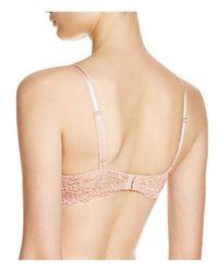 Wacoal - Pink Embrace Lace Contour Bra #853191 - Lyst