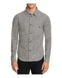 Native Youth | Gray Granite Slim Fit Button-down Shirt for Men | Lyst