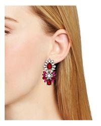 Aqua - Multicolor Iona Statement Stud Earrings - Lyst