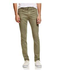 Joe's Jeans   Green Twill Slim Fit Pants for Men   Lyst