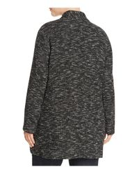 Eileen Fisher - Black Tweed Jacket - Lyst