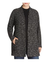 Eileen Fisher | Black Tweed Jacket | Lyst