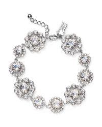 kate spade new york | Metallic Flower Medallion Bracelet | Lyst