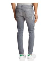 J Brand - Gray Mick Slim Fit Jeans In Covalent for Men - Lyst