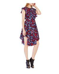 BCBGMAXAZRIA | Purple Christiania Printed Dress | Lyst