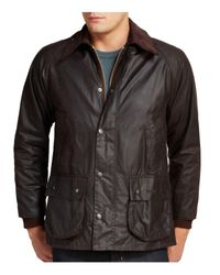Barbour - Brown Classic Bedale Waxed Cotton Coat for Men - Lyst
