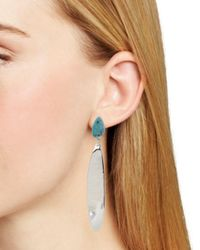 Robert Lee Morris - Multicolor Turquoise-detail Stick Earrings - Lyst